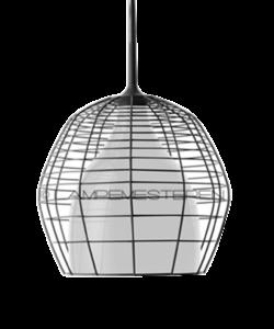 Cage Taklampa Piccola Svart/Vit 2m - Diesel