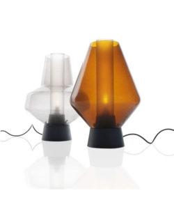DEMO Metall Glass 2 Bordslampa - Diesel Grön