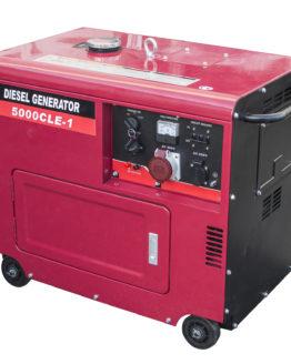 Elverk 5,8kW Diesel Silent 70dB