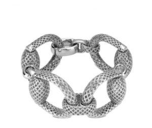 GUCCI Horsebit Armband i silver