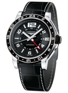 LONGINES Admiral GMT L3.668.4.56.2