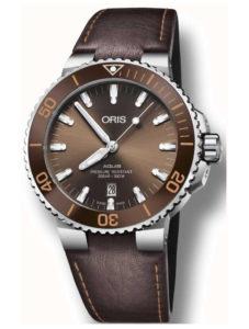 ORIS Aquis Date 73377304152LS BROWN