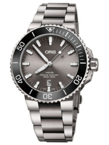 ORIS Aquis Titanium Date 73377307153MB