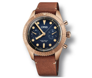 ORIS Carl Brashear Chronograph Limited Edition 01 771 7744 3185 Set LS