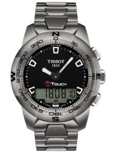 TISSOT T-Touch II Black Ti T047.420.44.051.00
