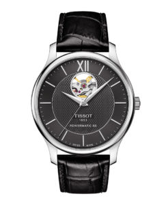 TISSOT Tradition Powermatic 80 Open Heart T063.907.16.058.00