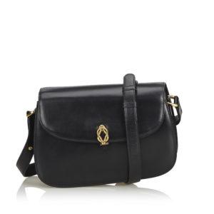 Old Gucci Leather Shoulder Bag