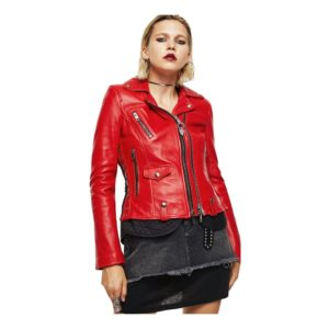 Diesel 00S492 0Lawu L-Carama Jacket AND Jackets Women RED