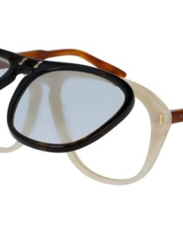 Gucci Gucci GG0087S with Clip-On Solglasögon