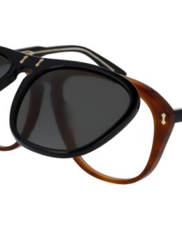 Gucci GG0087S with Clip-On Solglasögon