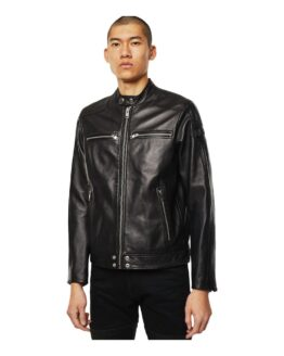 Diesel 00S6Z1 0Tauh L-Boy Jacket AND Jackets Men Black